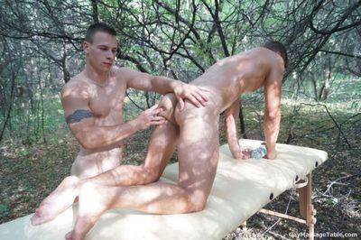 Gay Massage Table free